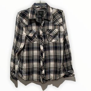 Rails Plaid Button Front Shirt